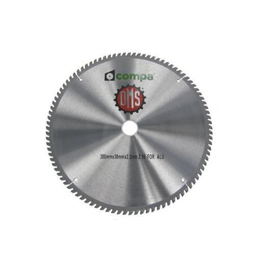DISCO ALUMINIO  250x30 mm. Z 80 Aluminio