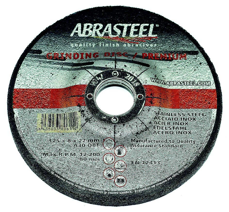 DISCO DESBASTE BASIC 125x8x22 INOX