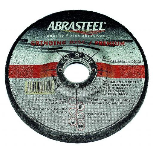 DISCO DESBASTE BASIC 115x8x22 INOX