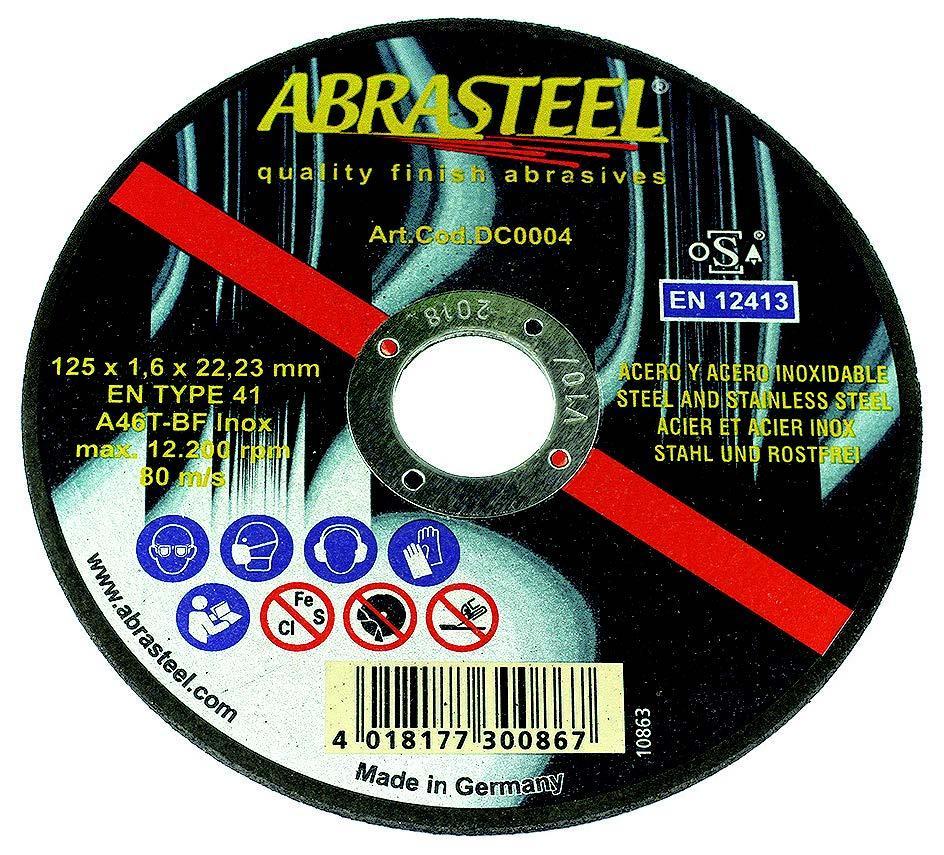 DISCO CORTE BASIC 115x1x22 INOX