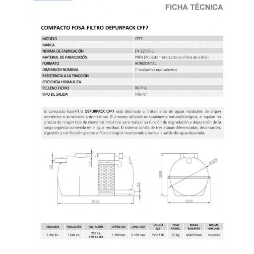 FOSA FILTRO 2300 litros 7/8 habitantes PRFV salida inferior [1]