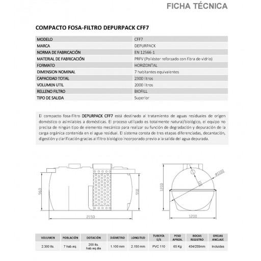 FOSA FILTRO 2300 litros 7/8 habitantes PRFV salida superior [1]