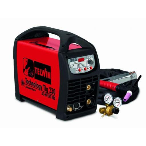 Technology Tig 230 DC - HF / LIFT VRD + accessories [0]