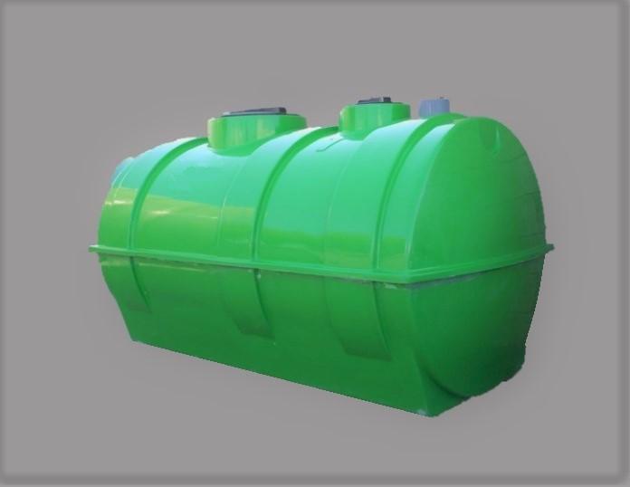 FOSA FILTRO 2300 litros 7/8 habitantes PRFV salida inferior