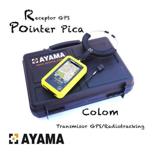 pointer pica recptor y emisor gps pack