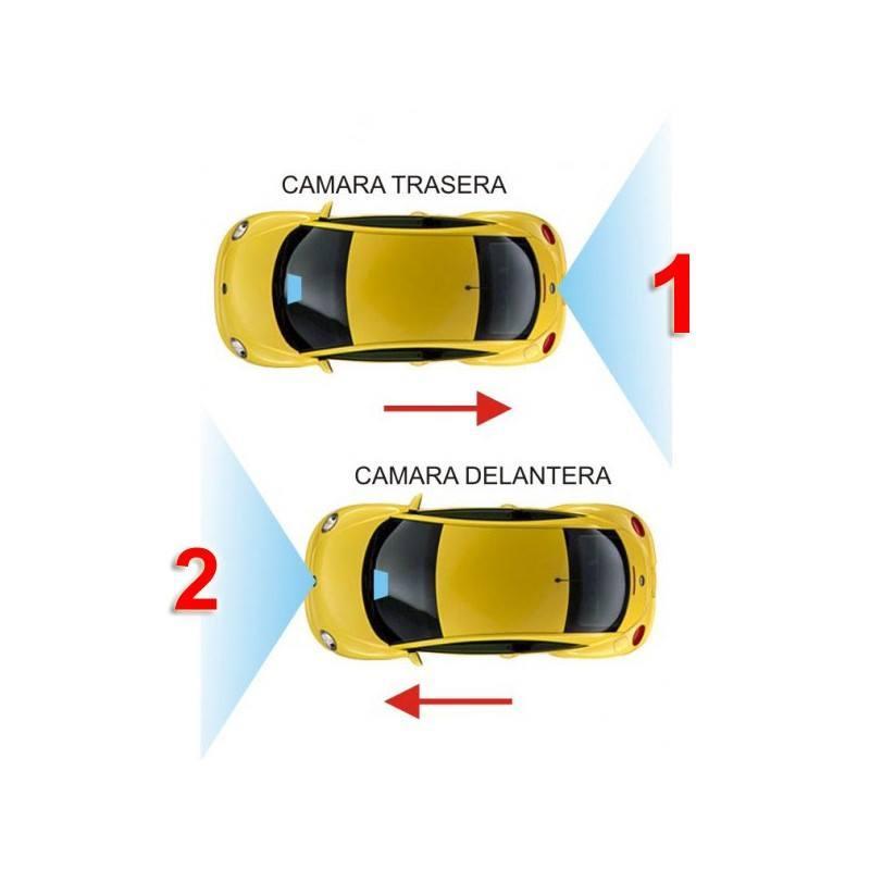 INTERFACE CONTROL CAMARA TRASERA + DELANTERA