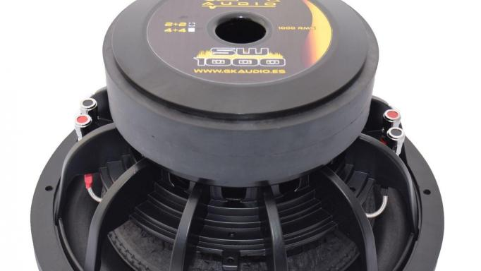 "GK Audio  SW1000 15"" 2+2 Ohms [1]"