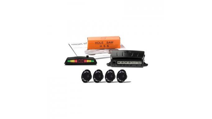 Sensores parking traseros con display  tipo OEM