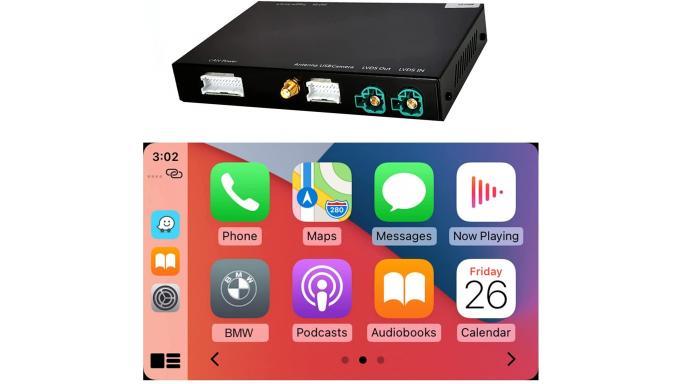 Interfaces Carplay, Android y camara trasera IhNavi