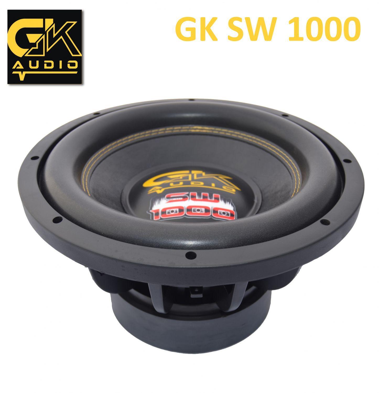 "GK Audio SW1000 15"" 4+4 Ohms"