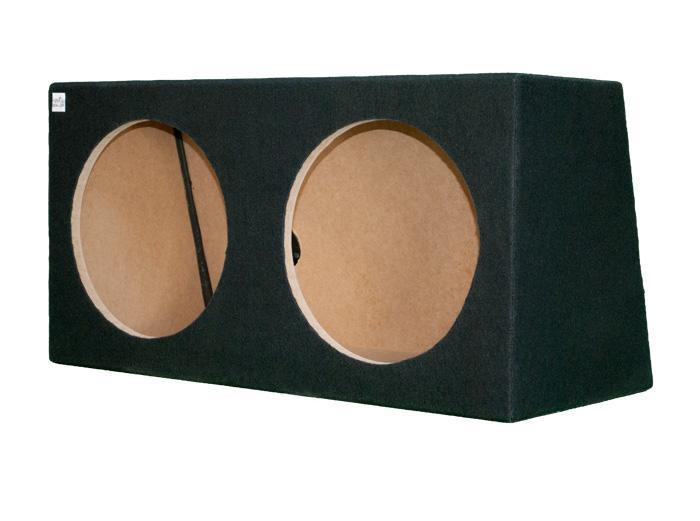 "Caja subwoofer doble 15"" sellada"