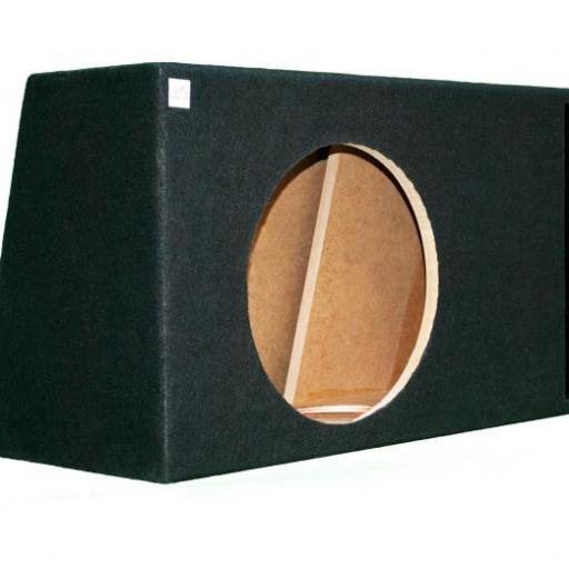 "Caja subwoofer 12"" extraplana reflex"