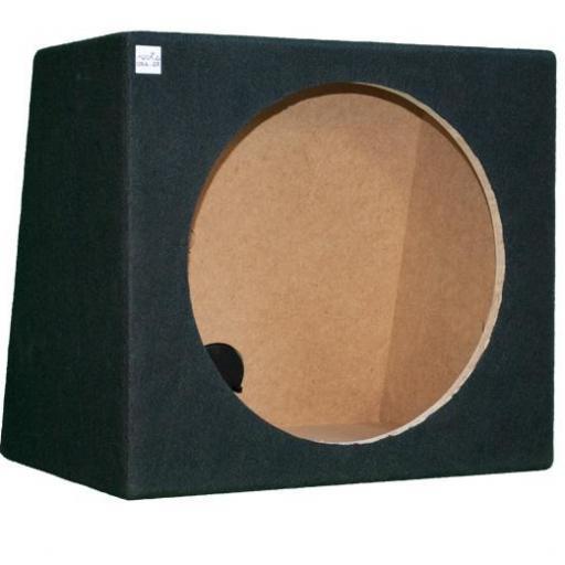 """Caja subwoofer 15"""" sellada"""