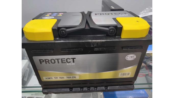 Bateria AGM Hella 70A
