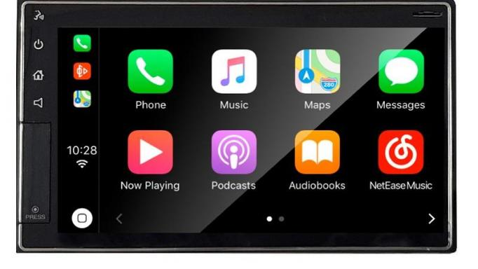 Sistema 2 DIN 6.5´´ Carplay y Android Auto. Brilliant. Linux  Pvpr - Con Iva:398,