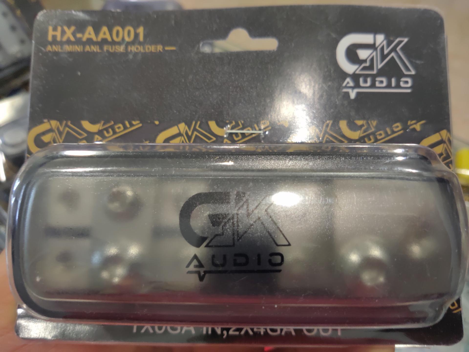 Distribuidor 1 ent 2 salidas Gk Audio
