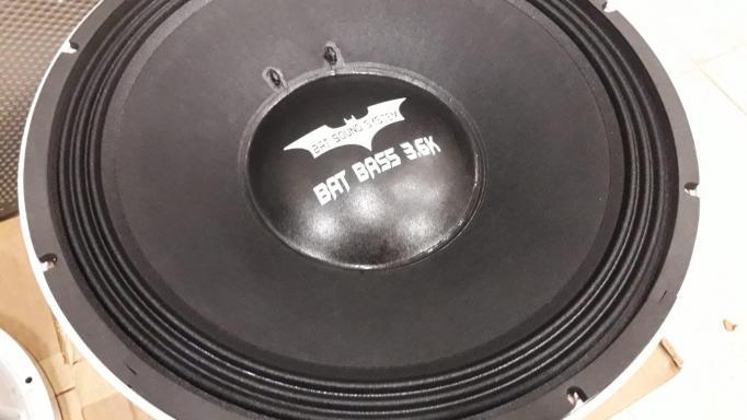 "BAT BASS 3.6K 15"""