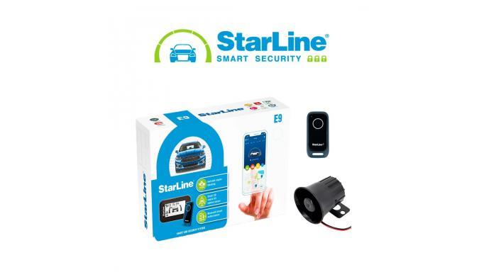 Alarma Starline E9 MINI con instalación incluida