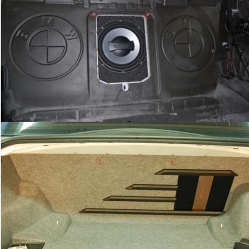 Caja de subwoofer Fit-Box BMW E46 [1]