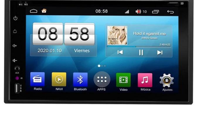 IH803EE Radio navegador Android 2 DIN 6,2´´– A10, 4 Core, 2+16