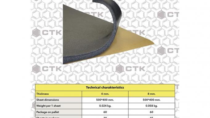 CTK Tempofix 4 mm 30 placas