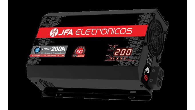 FUENTE JFA 200A RED-LINE