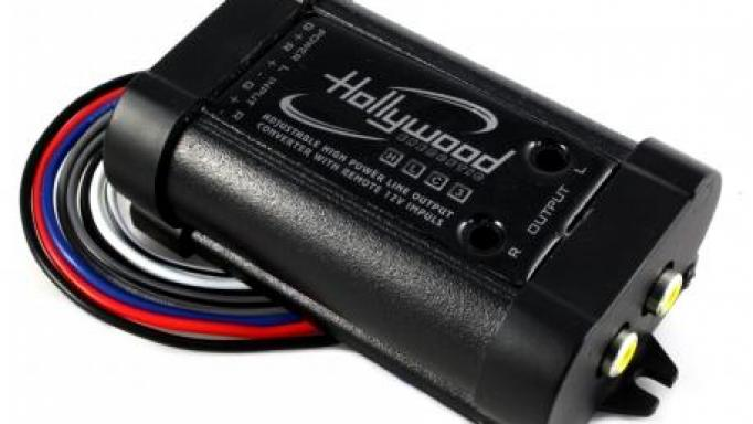 Hollywood HLC3 Convertidor Rca 2 canales