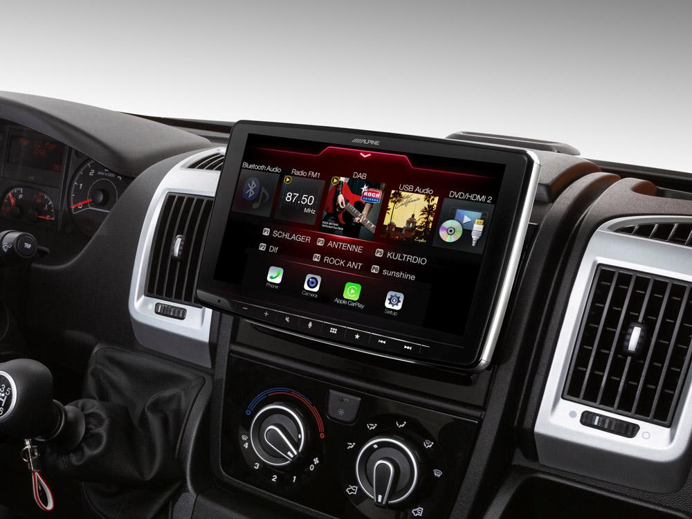 Fiat Ducato III, Citroën Jumper II y Peugeot Boxer II compatible con Apple CarPlay y Android Auto