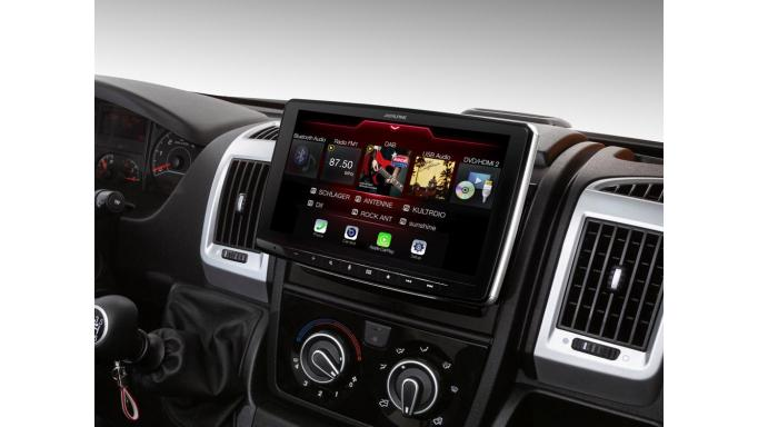 Fiat Ducato III, Citroën Jumper II y Peugeot Boxer II compatible con Apple CarPlay y Android Auto