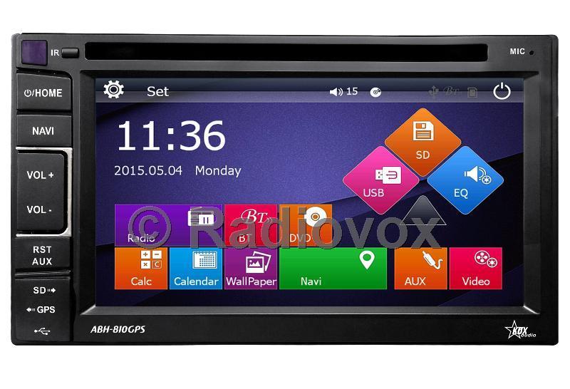 2 Din RDX  ABH-810 GPS