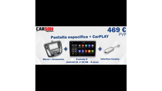 Promocion Pantalla Especifica Carson Q982 + Carplay