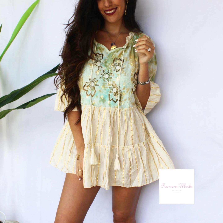 Vestido Dana Turquesa