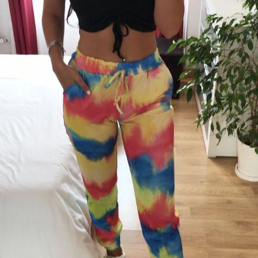 Pantalón Largo Tie-dye [1]
