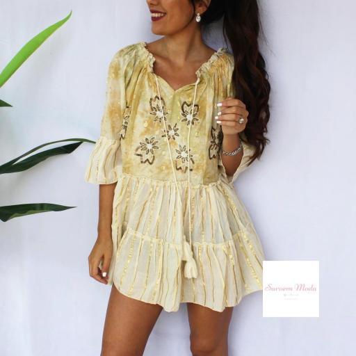 Vestido Dana Amarillo [2]