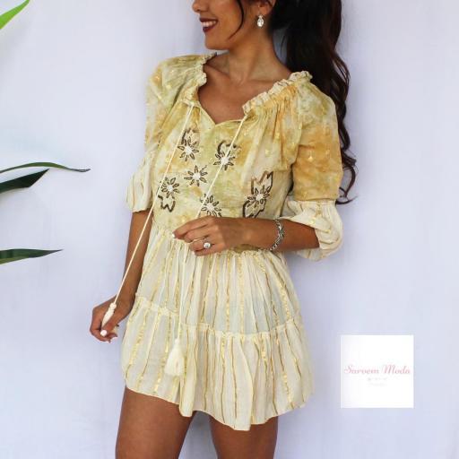 Vestido Dana Amarillo [3]