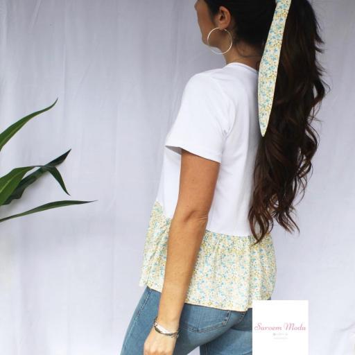 Camiseta + Lazo Flores [1]