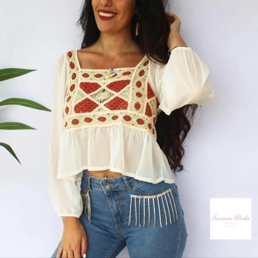 Blusa Crochet [1]