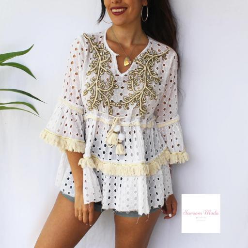 Blusón Narlai Blanco [3]