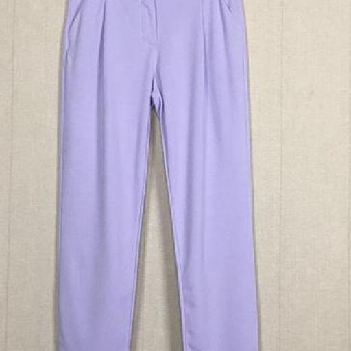 Pantalón Cinturón Lila [2]
