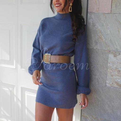 Maxi Jersey Tacto Suave Azul [2]