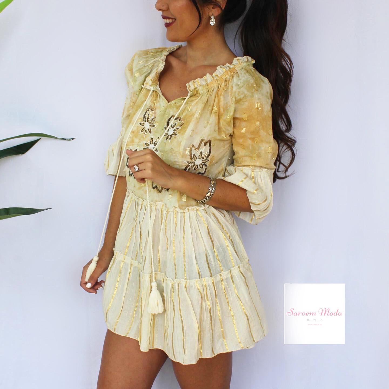 Vestido Dana Amarillo