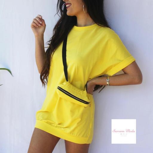 Vestido Riñonera Amarilla [1]
