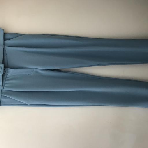 Pantalón Cinturón Azul [3]