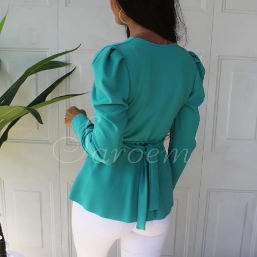 Blusa Elsa Turquesa [2]