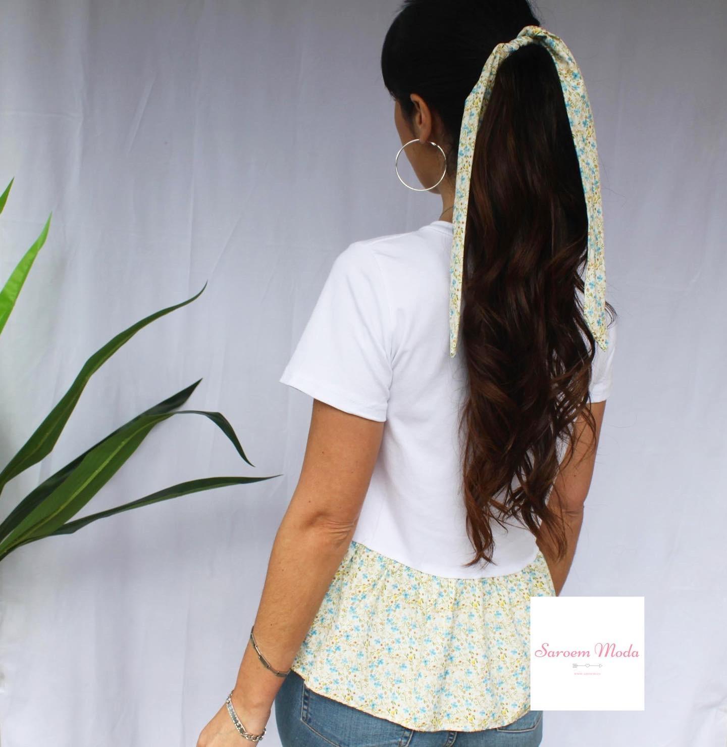Camiseta + Lazo Flores