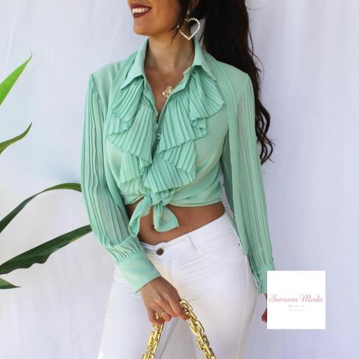 Blusa Madame Verde