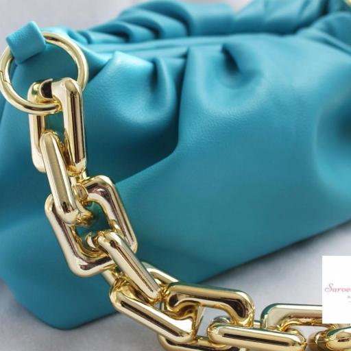 Bolso Cadena Azul Intenso