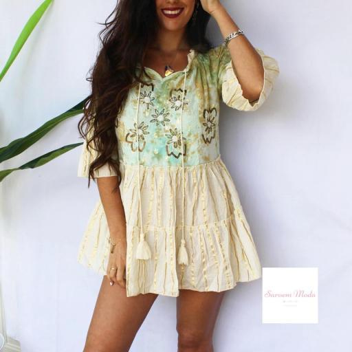 Vestido Dana Turquesa [2]