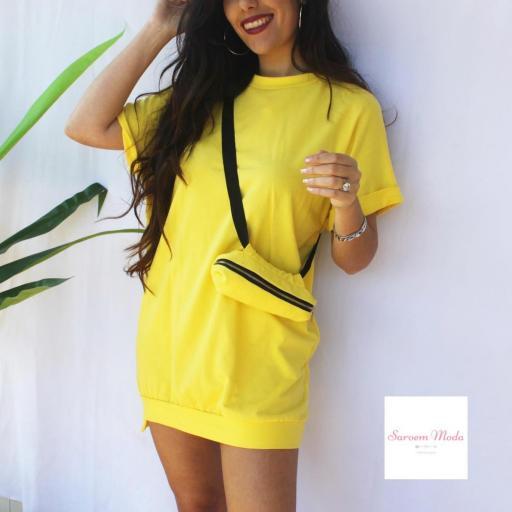 Vestido Riñonera Amarilla [3]