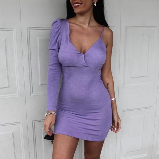 Vestido Punto Lila [2]